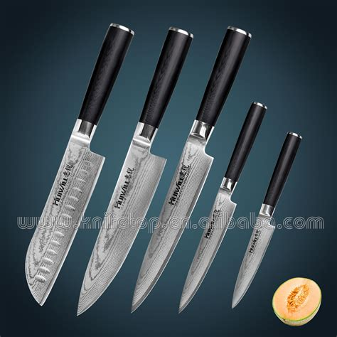 Good Brand Of Kitchen Knives by Japanese Vg10 Damascus Stainless Steel Professional Chef