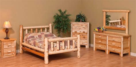 cedar bedroom furniture sets cedar log bed kits rustic furniture mall by timber creek