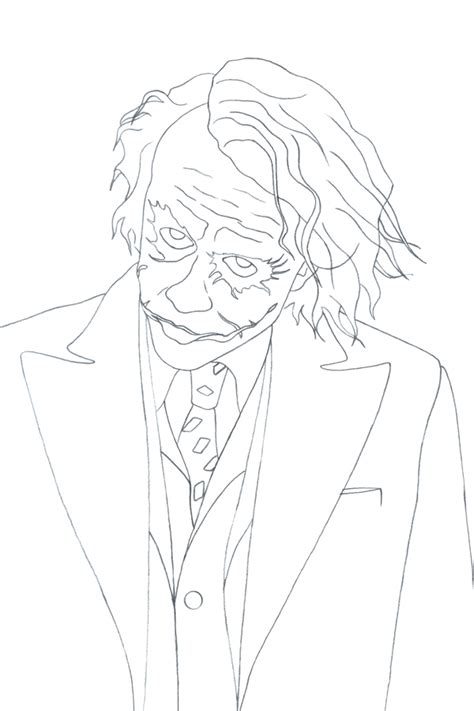 joker coloring pages easy joker easy coloring art coloring pages