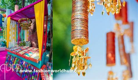 Innovative ways to use Bangles in your wedding decor