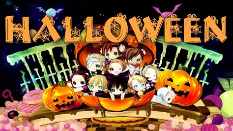 imagenes de halloween en anime feliz dia de halloween mundo anime youtube