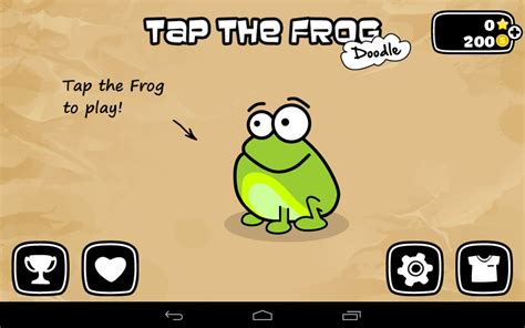 free doodle for android tap the frog android