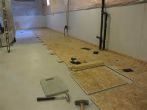 subfloor for basements aggroup inc o neil basement dricore subfloor