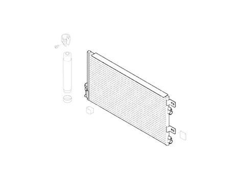 cooper capacitor units mini cooper ac condenser oem gen1 r50 r52 r53