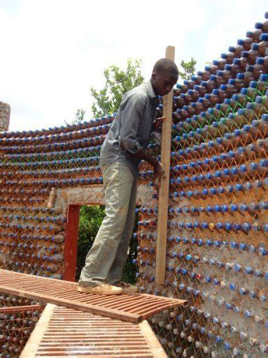what are walls made of bulletproof fireproof house made from used plastic bottles