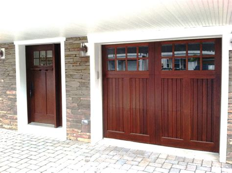 Exterior Garage Doors Clingerman Doors Custom Wood Garage Doors Clearville Pa