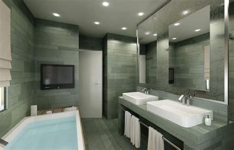 interni bagni rendering 3d immobiliare