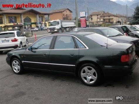 Audi A8 4 2 Quattro 1995 1995 audi a8 4 2 v8 quattro cat car photo and specs