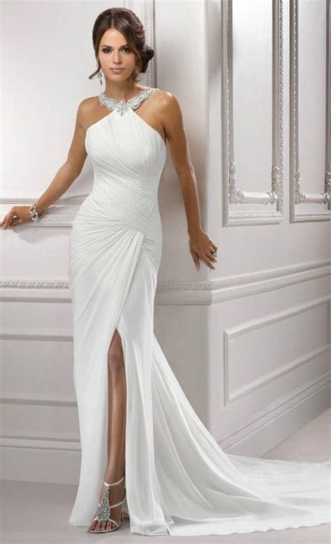 halter wedding dresses ideas  pinterest