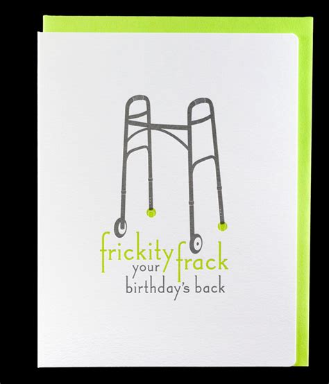 greeting card template sarcastic stationery a z snarky birthday cards