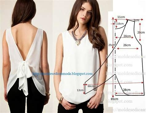 moldes de ropa y patrones para diseo de prendas en todas 17 best ideas about blusas faciles de hacer on pinterest