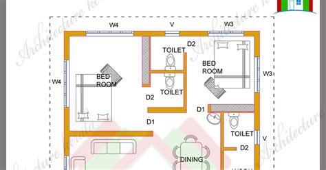 4 Bhk Kerala House In 1700 Square Feet Architecture Kerala 1700 Square Foot House Plans Kerala