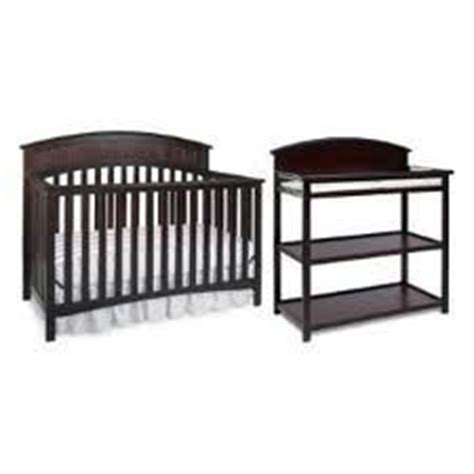 Graco Convertible Crib With Changing Table Graco Charleston Classic Two Convertible Crib Set Crib And Changing Table