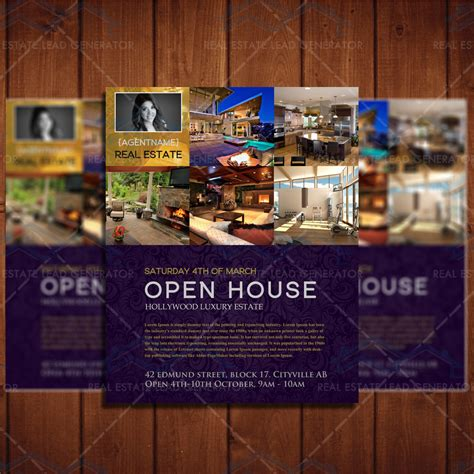 open house ad luxury open house online ad real estate lead generator