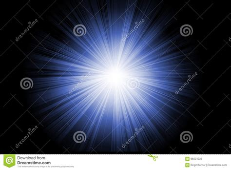 flash reproduce picture on black background with soft blue abstract flash illustration stock illustration