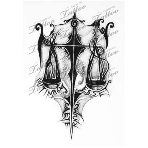 tribal libra scales tattoo the world s catalog of ideas