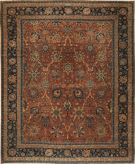 Antique Rugs by Antique Kerman Rug 42465 Nazmiyal Collection