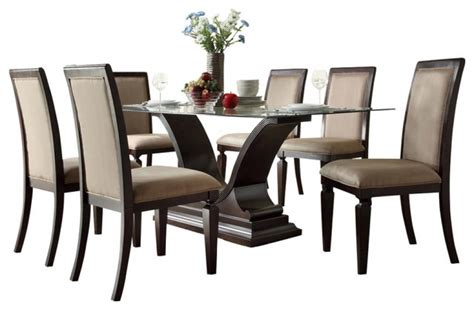 7 dining room set www dylanpfohl dining room set 7 steve silver zappa