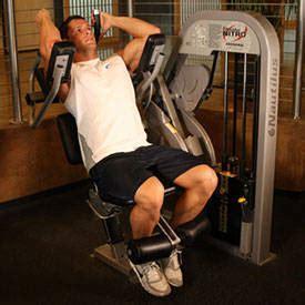 ab crunch machine exercise guides bodybuilding
