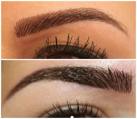 tattooed on eyebrows permanent eyebrows on permanent makeup