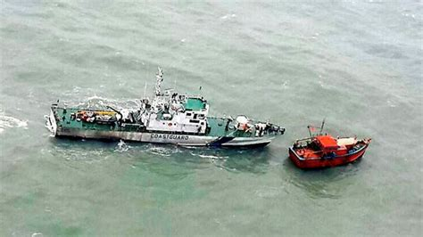 fishing boat cost in india 17 fishermen missing after indian trawler sinks off