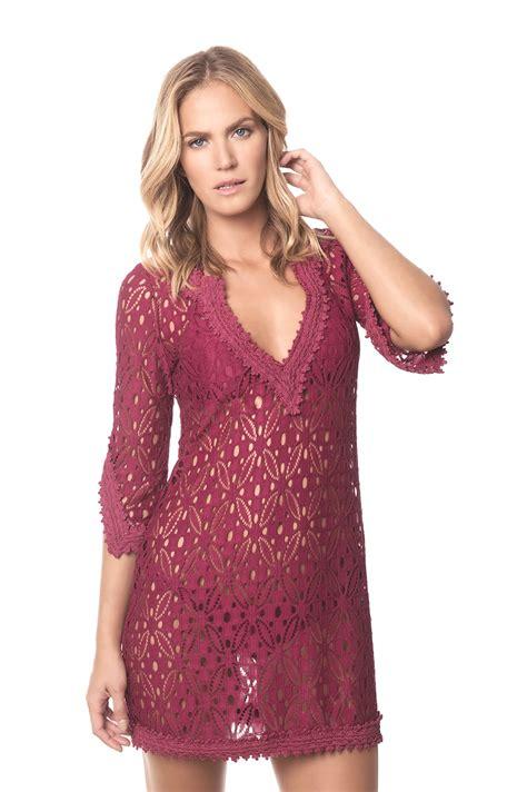 Despi Vintage 4 despi wine colored dress 3 4 sleeves cherry indonesia