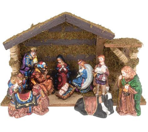thomas pacconi 12 piece blown glass nativity set page 1