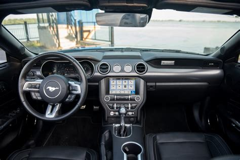 ford mustang ecoboost convertible interior claveys corner
