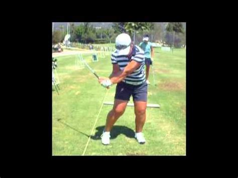 golf swing down the line view alice kim x5 front view down the line golf swing youtube