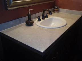 custom tile vanity fresh ideas home improvement
