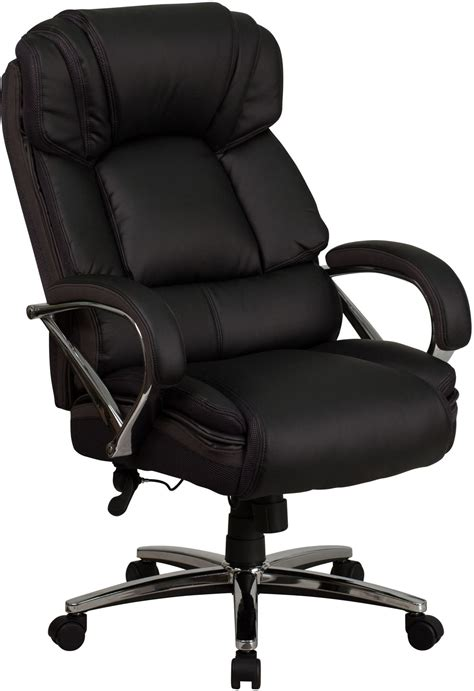 Hercules Office Chair by Hercules Series Big Black Leather Executive Swivel