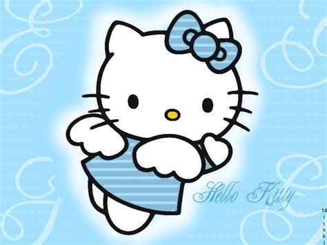 wallpaper hello kitty blue hello kitty wallpapers hello kitty blue