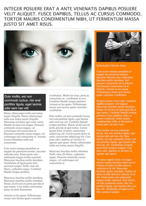 Magazine Article Template Cyberuse Free Magazine Layout Templates For Publisher