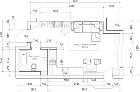 6 Beautiful Home Designs Under 30 Square Meters With Floor Plan With Dimensions In Meters