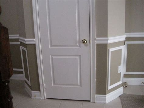 decorative wall molding panels 1000 ideas about painted wainscoting on