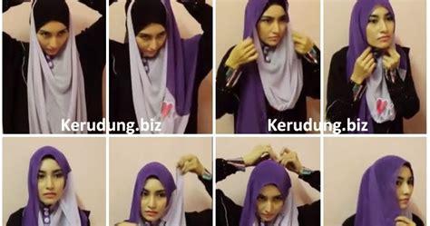 tutorial shawl unik cara memakai tudung neelofa cara pakai tudung bawal