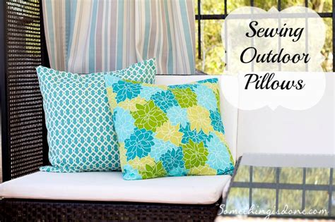 how to sew patio cushions diy how to recover outdoor