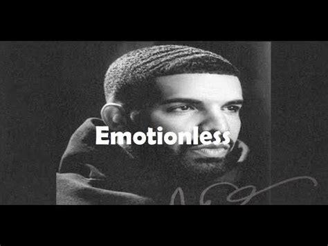 drake emotionless lyrics drake emotionless with lyrics youtube