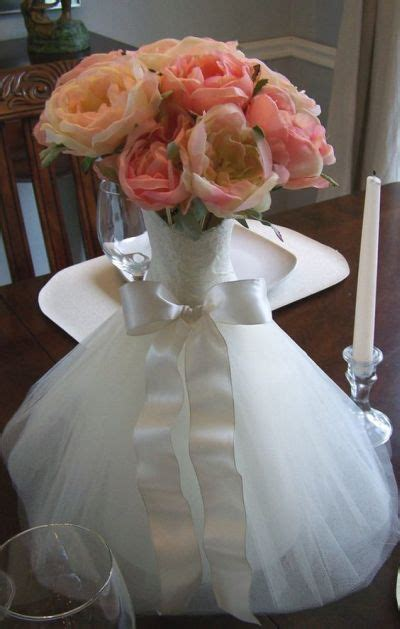 Wedding Dress Vase by Flowers Inside A Vase That Takes Its Inspiration From The
