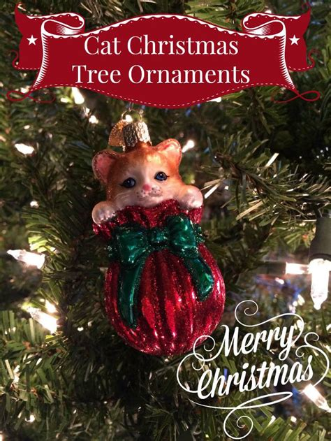 purr fect cat christmas tree ornaments for a meowy christmas