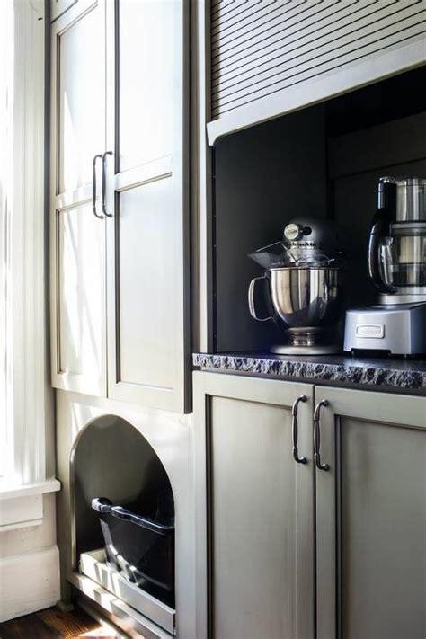 kitchen cabinet garage door kitchen appliances cabinet with gray garage door