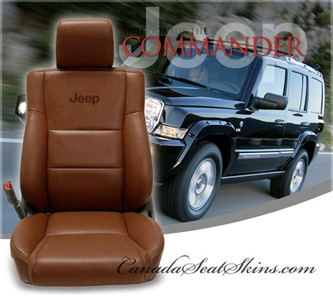 jeep upholstery 2006 2010 jeep commander custom leather upholstery
