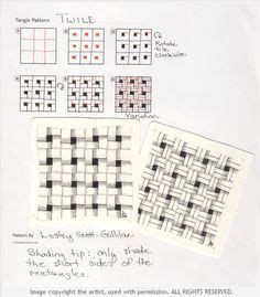 pattern for drawing around crossword logjam by wayne harlow zentangle pattern steps how