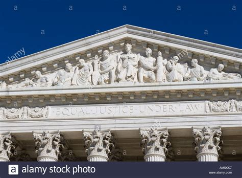 Washington Dc Court Search Frieze Of The Us Supreme Court Building Washington Dc On The Stock Photo