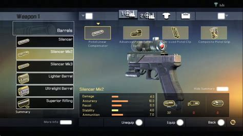 Modification Weapons by Weapon Modification Characters Bomb