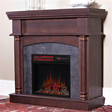 Electric Fireplace by Wexford Wall Or Corner Infrared Electric Fireplace In