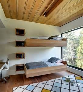 floating bunk beds floating beds elevate your bedroom design to the next level