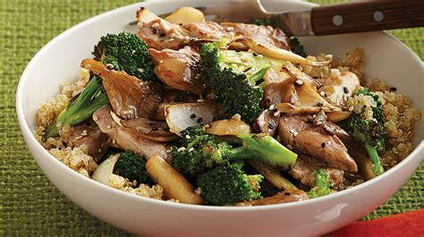 pork stir fry with broccoli mushrooms sobeys inc