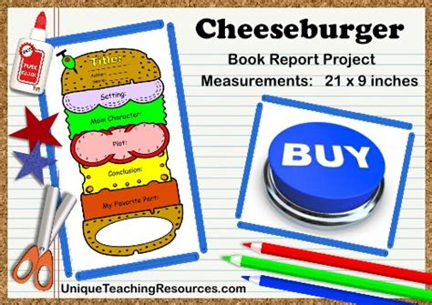pin printable sandwich book report form abi on