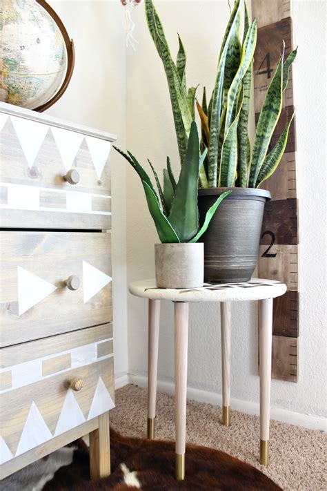 diy projects diy plant stand classy clutter